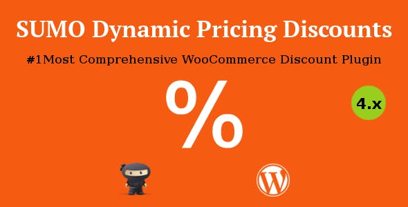 Download SUMO WooCommerce Dynamic Pricing Discounts v5.0 - WooCommerce plugin Free / Nulled