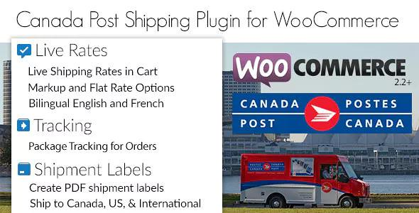Download Canada Post Woocommerce Shipping Plugin v1.6.11 - WooCommerce plugin Free / Nulled