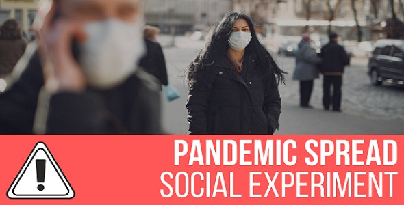 Download Pandemic Spread Simulation v1.0 - Social Experiment Free / Nulled
