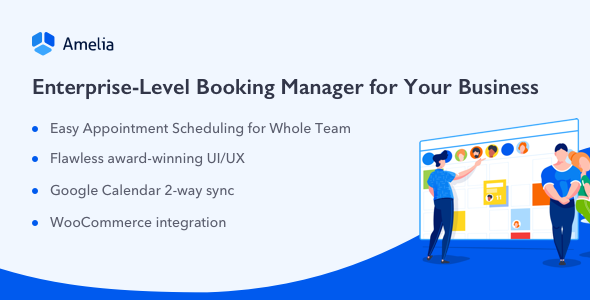 Download Amelia  v2.7 - Enterprise-Level Appointment Booking Free / Nulled