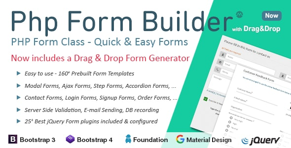 Download PHP Form Builder v4.5.0 - Nulled Free / Nulled