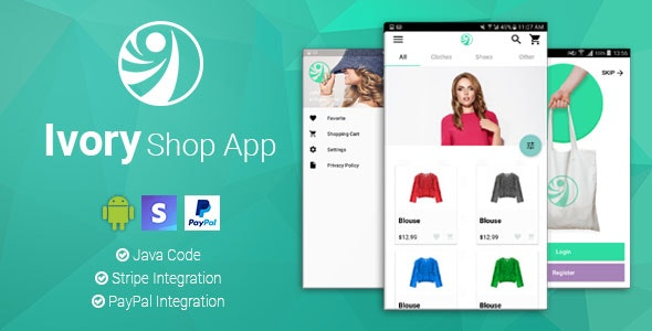 Download Ivory Shop v2.2.2 - Android eCommerce App Free / Nulled