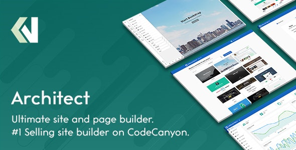 Download Architect v2.2.1 - HTML and Site Builder Free / Nulled