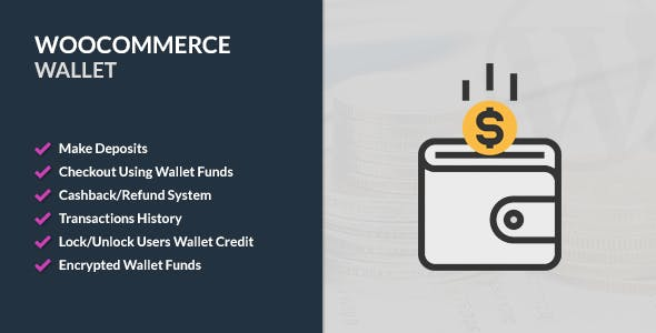 Download WooCommerce Wallet  v2.6.2 - WooCommerce plugin Free / Nulled