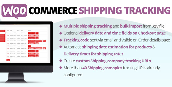Download WooCommerce Shipping Tracking Plugin  v25.4 - WooCommerce plugin Free / Nulled