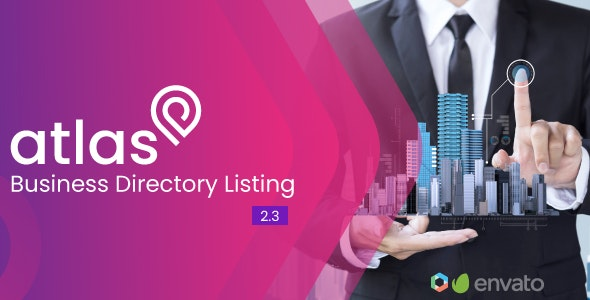Download Atlas v2.3 - Business Directory Listing - nulled Free / Nulled