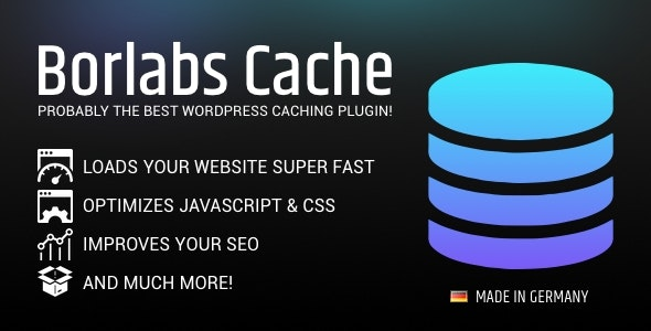 Download Borlabs Cache v1.6.1 - WordPress Caching Plugin Free / Nulled