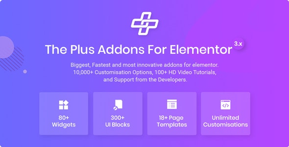 Download The Plus v3.4.0 - Addon for Elementor Page Builder WordPress Plugin Free / Nulled
