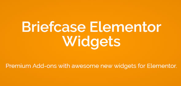 Download Briefcase Elementor Widgets v1.8.1 - WP Plugin Free / Nulled