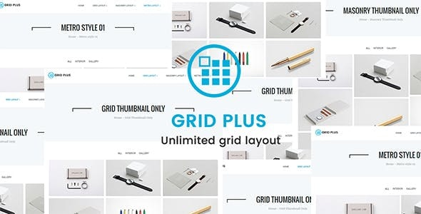 Download Grid Plus v2.8 - Unlimited Grid Layout Free / Nulled