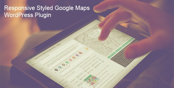 Download Responsive Styled Google Maps v5.0 - WordPress Plugin Free / Nulled