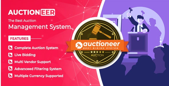 Download Auctioneer v1.0 - Full Auction management Free / Nulled
