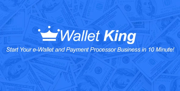 Download Wallet King v1.0 - Online Payment Gateway with API Free / Nulled