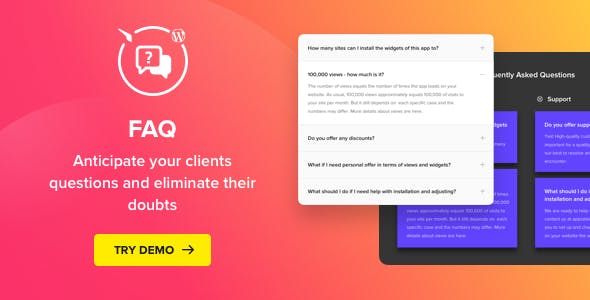 Download Accordion FAQ Plugin for WordPress  v1.3.0 - WP Plugin Free / Nulled