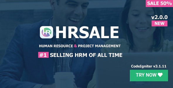 Download HRSALE v2.0.0 - The Ultimate HRM Free / Nulled