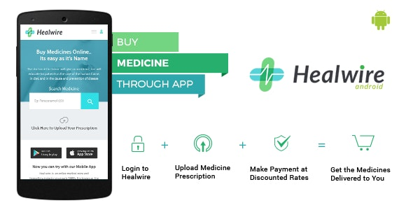 Download Healwire Android v1.1.2 - Online Medical Store Free / Nulled