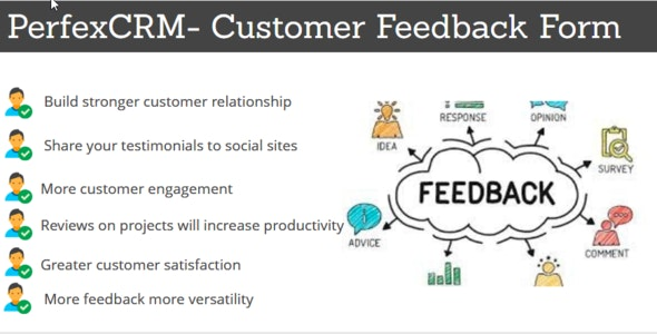 Download Perfex CRM v1.0 - Customer Feedback Module Free / Nulled