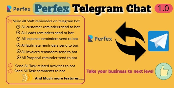 Download Perfex CRM and TelegramBot Chat Module v1.0 - Nulled Free / Nulled