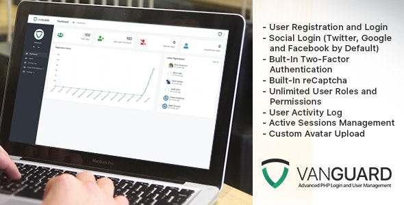 Download Vanguard v5.0.1 - Advanced PHP Login and User Management Free / Nulled