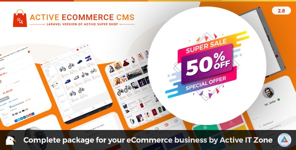 Download Active eCommerce CMS v2.8 - nulled Free / Nulled