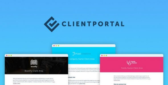 Download Client Portal For WordPress  v4.8.6 - WP Plugin Free / Nulled
