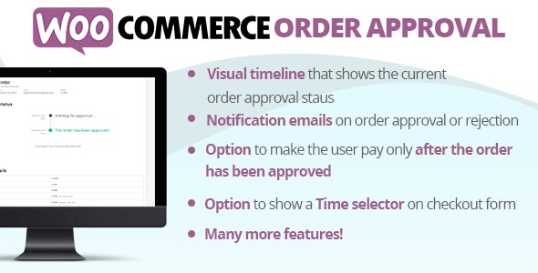 Download WooCommerce Order Approval v3.6 - WooCommerce plugin Free / Nulled