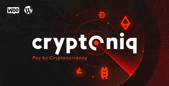 Download Cryptoniq v1.8 - Cryptocurrency Payment Plugin for WordPress Free / Nulled
