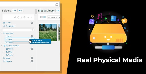 Download WordPress Real Physical Media v1.1.6 - Physical Media Folders & SEO Rewrites Free / Nulled