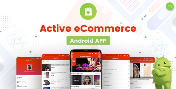 Download Active eCommerce Android App v1.0 - Mobile App Free / Nulled