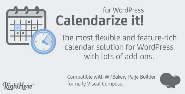 Download Calendarize it! for WordPress v4.9.8.97384 - WP Plugin Free / Nulled