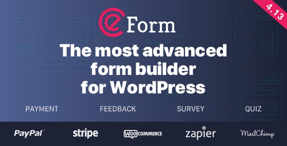 Download eForm v4.13.1 - WordPress Form Builder Free / Nulled