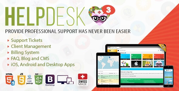 Download HelpDesk v3.5 - The professional Support Solution - nulled Free / Nulled