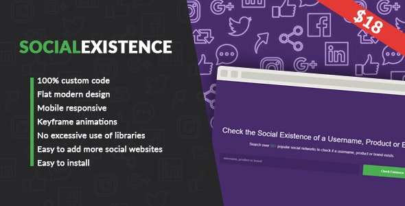 Download Social Existence v1.0 - Nulled Free / Nulled