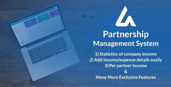 Download Partnership Management System v1.0.1 - Nulled Free / Nulled