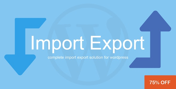 Download WP Import Export v2.0.0 - WP Plugin Free / Nulled