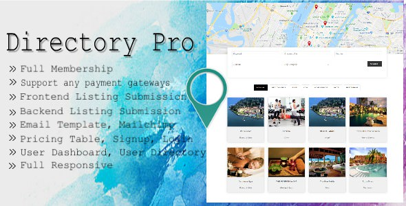 Download Directory Pro v2.0.8 - WP Plugin Free / Nulled