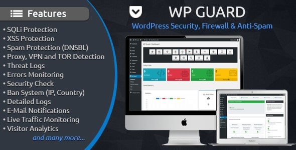 Download WP Guard v1.4 - Security, Firewall & Anti-Spam plugin for WordPress Free / Nulled