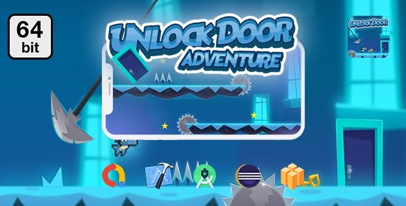 Download Unlock Doors Adventure 64 bit v1.0 - Android IOS With Admob Free / Nulled