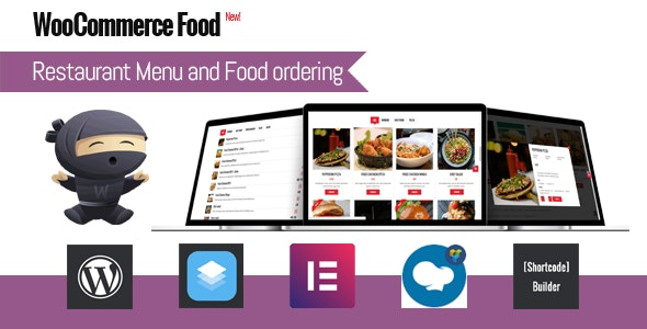 Download WooCommerce Food v1.4 - Restaurant Menu & Food ordering Free / Nulled