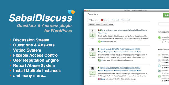 Download Sabai Discuss for WordPress v1.4.9 - WP Plugin Free / Nulled