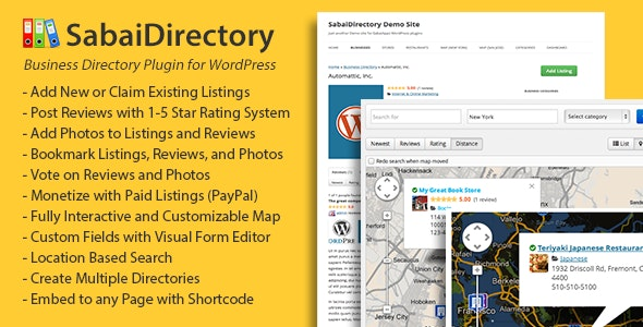 Download Sabai Directory for WordPress v1.4.9 - WP Plugin Free / Nulled