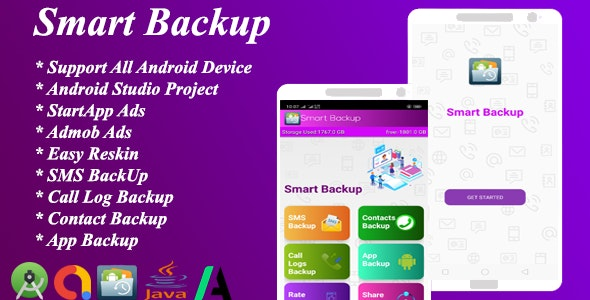 Download Smart Backup v1.0 - Mobile App Free / Nulled