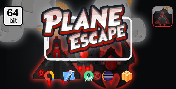 Download Planes Escape 64 bit v1.0 - Android IOS With Admob Free / Nulled