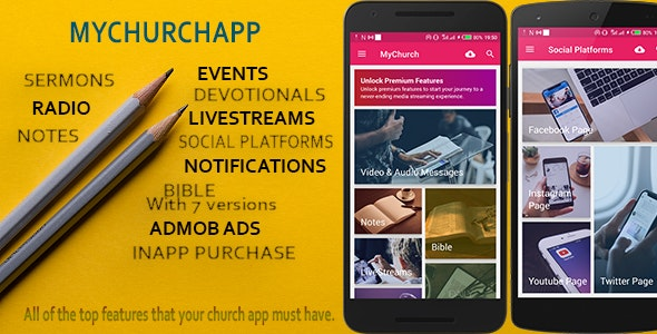 Download My Church App v1.0 - connect your church to a mobile world Free / Nulled