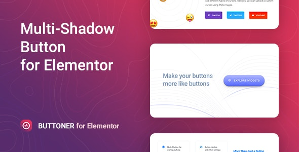 Download Buttoner v1.0.1 - Multi-shadow Button for Elementor Free / Nulled