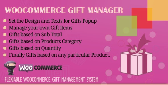Download WooCommerce Gift Manager v2.6 Free / Nulled