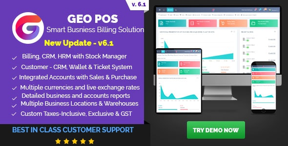 Download Geo POS v6.1 - Point of Sale, Billing and Stock Manager Application Free / Nulled