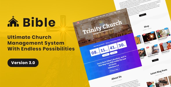 Download Bible v3.0 - Church Management System Free / Nulled