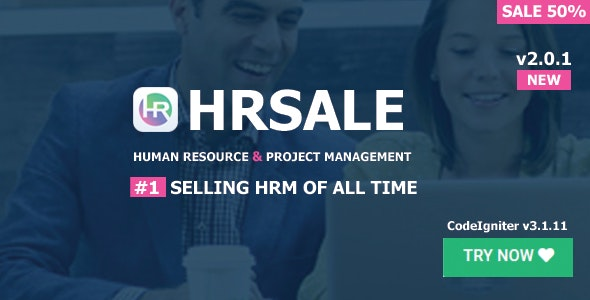 Download HRSALE v2.0.1 - The Ultimate HRM Free / Nulled