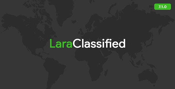 Download LaraClassified v7.1.0 - Classified Ads Web Application Free / Nulled
